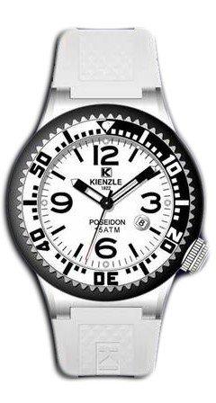 Waooh - Relojes - Reloj Kienzle Poseidon Grande (blanco - negro)