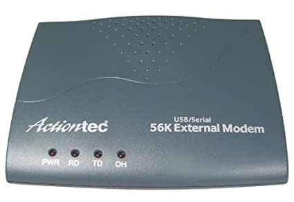 ACTIONTEC EXTERNAL SERIAL 56KV.92 MODEM SERIES DRIVERS (2019)