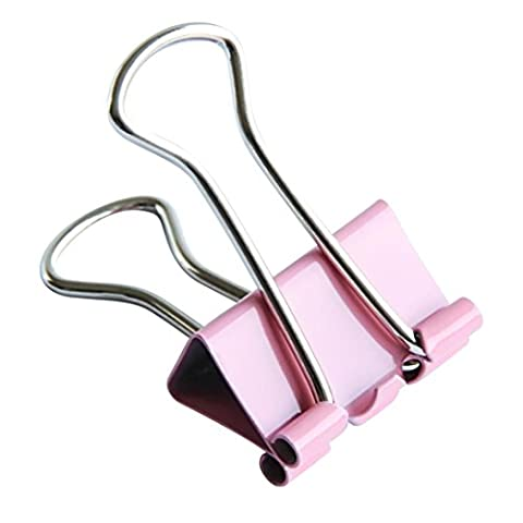 Sandistore 60x Colorful Metal Paper File Ticket Binder Clips 15mm Office School Supply Clip (60x) - Hottest Ticket