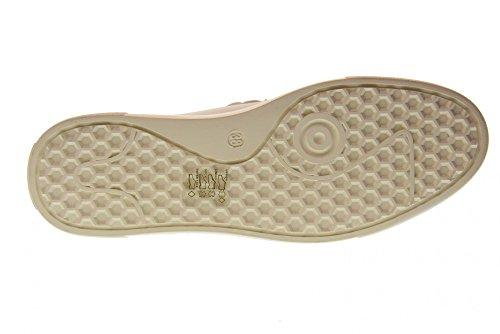 Blanc Fermées ALTRAOFFICINA Q0108X Forme Plate avec Chaussures la 167n06
