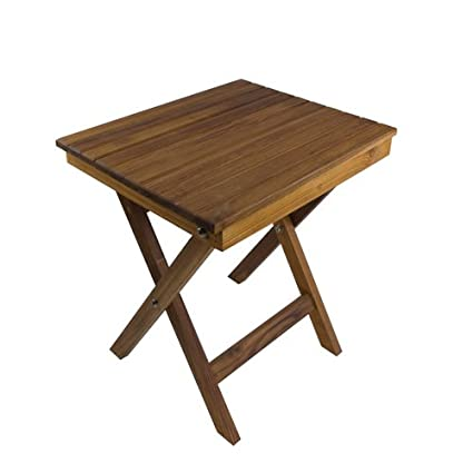 Amazon.com: Teak Shower Bench/Table with Folding Scissor Legs (16\