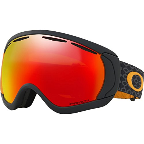 Oakley Canopy Snow Goggles, Skygger Black/Orange, Large (Signature Goggles Snow)