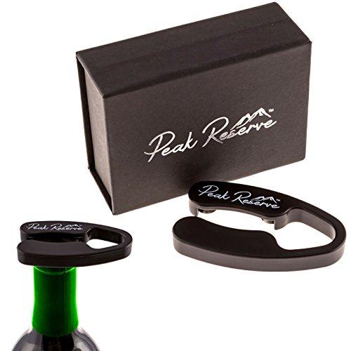 Peak Reserve Premium Quad Blade Wine Bottle Foil Cutter in a Premium Gift Box - Opens Bottles Responsibly