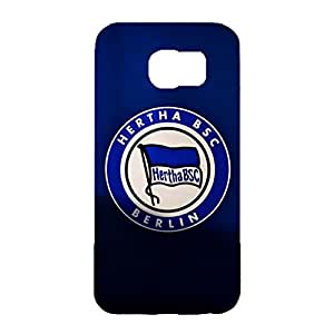 Hertha BSC Berlin Phone Case Bundesliga Football Team Logo 3D Tough Hard Cell Case For Samsung Galaxy S6