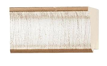 3 Width Contemporary Antique Silver Finish 18ft Bundle Wood 5//8 Rabbet Depth Picture Frame Moulding