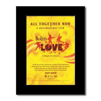Amazon.com: Music Ad World BEATLES - Love - Cirque du Soleil Mini ...