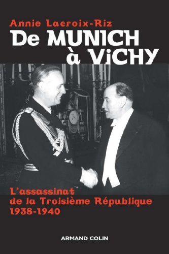 De Munich à Vichy