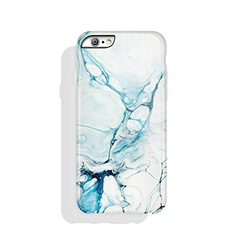 iPhone 6 & iPhone 6s Case Watercolor, Akna Charming Series High Impact Silicon Cover with Full HD+ Graphics for iPhone 6 & iPhone 6s (Graphic 101900-U.S)