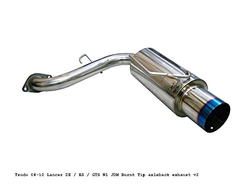 Tsudo 08 09 10 11 Lancer De / Es / GTS N1 Titanium Tip Axleback Exhaust V2 ()