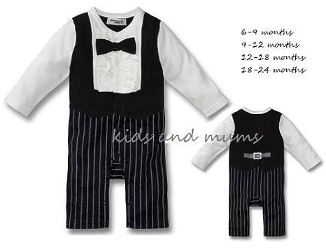 Bebé Niños De Fiesta Para Muñeca 6 – 24 mnths corbata Traje Lazo ...