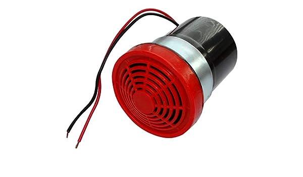 AERZETIX: Sirena Alarma 24V DC avisador acústico de Marcha ...