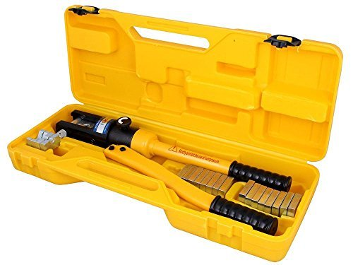 Crimpers 16 Ton Hydraulic Wire Terminal Crimper Battery Cable Lug Crimping Tool w/Dies by Crimpers (Image #1)