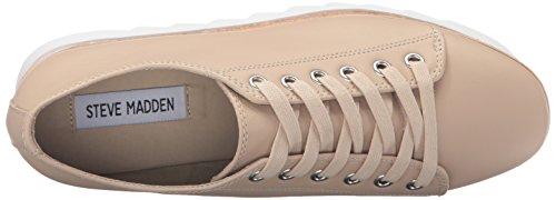 Steve Madden Kvinna Korrie Mode Sneaker Naken Läder