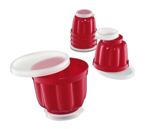 Küchenprofi 0805901406 Puddingförmchen, klein, 6-er Set