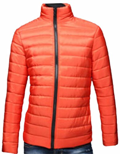 today Ultra Collar Orange Men Stand UK Down Jacket Weight Light Casual gwfxrgnSqP