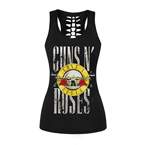 Guns N Roses Running Fitness Tank Top for Women