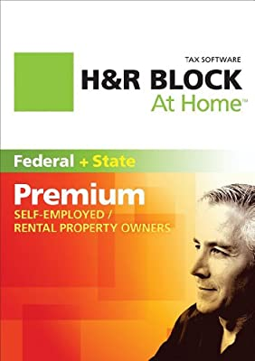 H&R Block At Home Premium + State