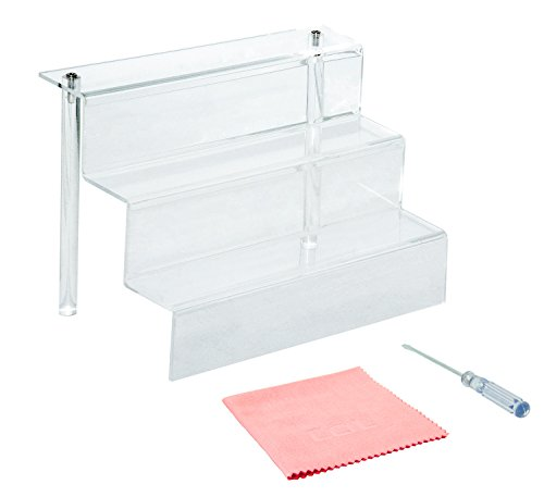 2-pack-9-inch-w-by-625-inch-d-3-step-acrylic-risers-clear-by-combination-of-life