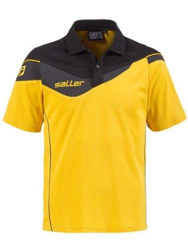 Saller Athletic - Polo, color amarillo, negro antracita: Amazon.es ...