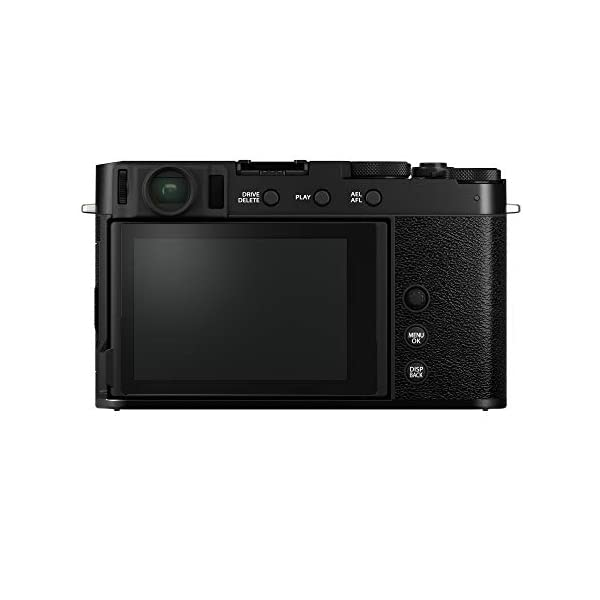 RetinaPix Fujifilm X-E4 Mirrorless Camera Body with XF27mmF2.8 R WR Prime Lens- Black (Compact Body, X-Trans CMOS 4 Sensor, Fast AF, Face/Eye AF, 180° Tilting LCD Screen, EVF, 4K Video, Film Simulation Modes)