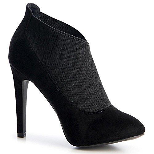 Femmes Topschuhe24 Noir Noir Topschuhe24 Femmes Femmes Femmes Bottes Bottes Noir Bottes Topschuhe24 Topschuhe24 RATtZzx