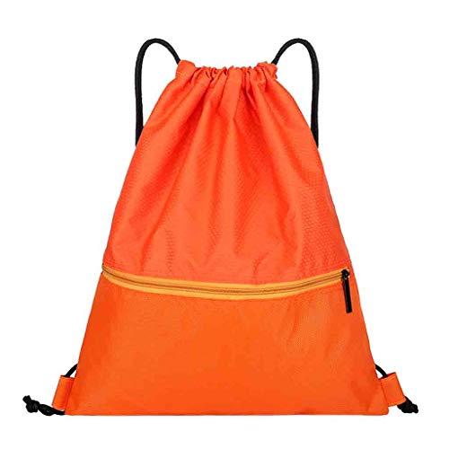 Sacoche Camping Winjin Plage Homme Vélo Garçon Orange Fitness De Poche Fille Randonnée Tirage Trekking Pour Cordon Faisceau Sac À Femme Dos 6q6rA
