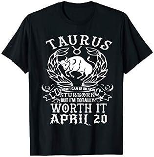 ⭐️⭐️⭐️ Taurus Zodiac April 20 Tshirt for women man Birthday Gift Need Funny Short/Long Sleeve Shirt/Hoodie