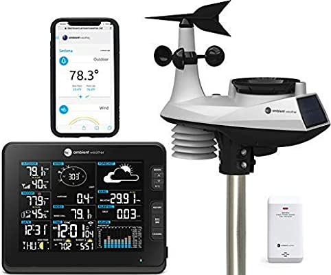 Ambient Weather WS-1900 Osprey Solar Powered Wireless Professional Weather Stati