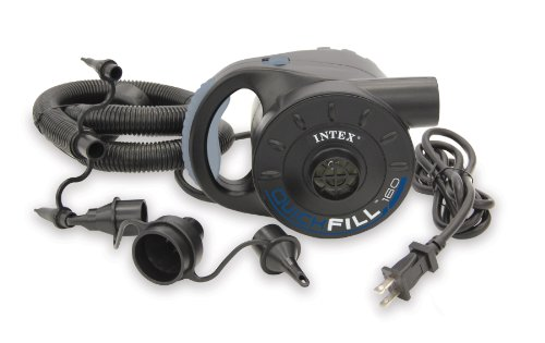 Intex Recreation 110-120 Volt AC Quick-Fill Electric Pump, Outdoor Stuffs