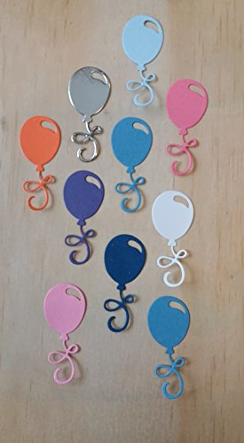 10 ASSORTED CARD BALLOONS FOR CRAFTING / CARDMAKING