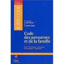 Code des personnes et de la famille (ancienne édition)