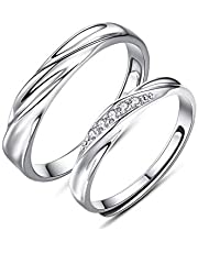 Couple Rings silver Ring for Men and Women