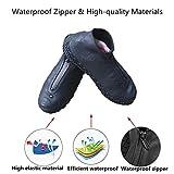 Waterproof Shoe Covers, Reusable Foldable Not-Slip