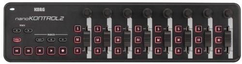 Korg nanoKONTROL2 Slim-Line USB Control Surface in Black - Image 5