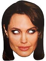 "High quality cardboard mask ""Angelina Jolie"""