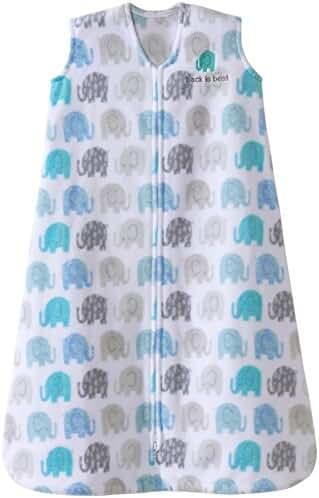 Halo Micro-Fleece Sleepsack - Elephant Texture - Small