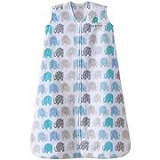 Halo Sleepsack, Micro-fleece, Elephant Texture, Gray, Small