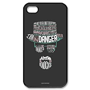 FOR Iphone 4 4S case cover -(DXJ PHONE CASE)-TV Show Doctor Who Series-PATTERN 3