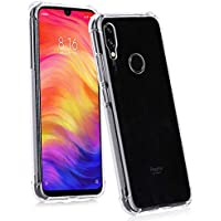 Capa Anti Shock Xiaomi Redmi Note 7 2019 Capinha Transparente Anti Impactos Bordas Reforçadas