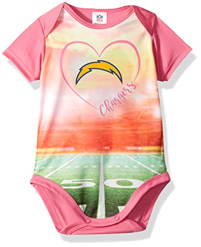 Clothing, Shoes & Accessories Outerstuff Nfl Infant Girls Los Angeles Chargers Assorted 3 Pack Creeper Set Fan Apparel & Souvenirs