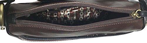 Tignanello Body Classic Equestrian 68633395 Black Brown Cross rBzrxO