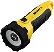 Dorcy Waterproof Battery Powered Floating LED Flashlight with Carabiner Clip, Ideal for Camping and Outdoors