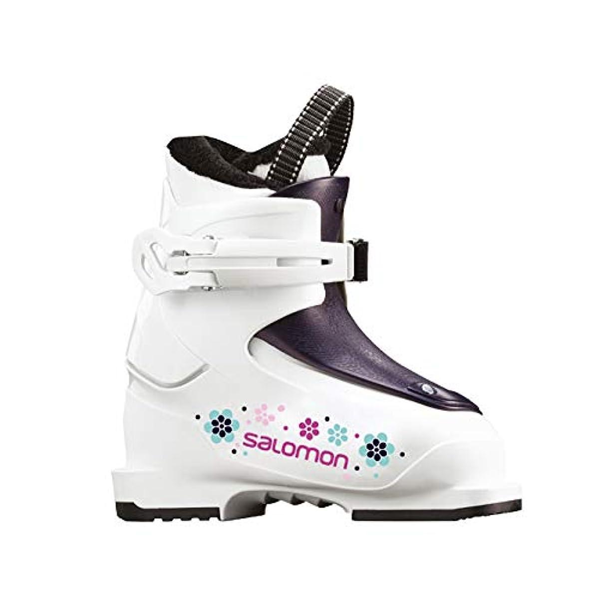 [해외] 살로몬SALOMON 스키화 쥬니어 T1 15~18CM 2018-19년 모델 L40574300