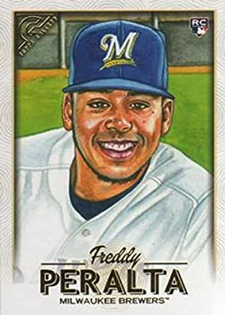 Amazoncom 2018 Topps Gallery Baseball 118 Freddy Peralta