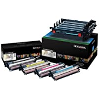 Lexmark - 2-pack - black, color printer imaging unit LCCP