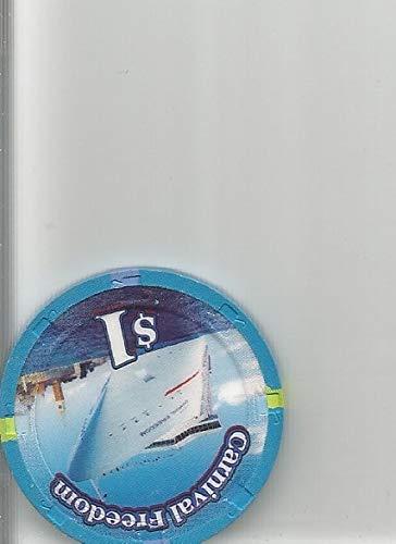 freedon casino chip token cruise liner vintage rare ()