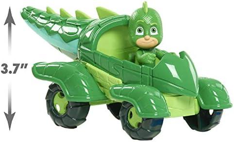 PJ Masks - Figura de superhéroe con Coche : Amazon.es ...