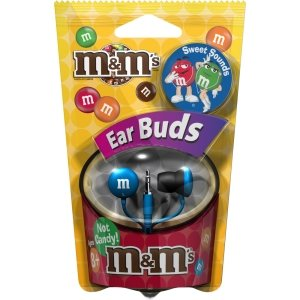 Green M&M's? Earbuds