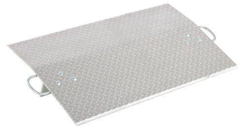 Vestil E-4224 Aluminum Economizer Dock Plate, 4,300-lb. Capacity, 24