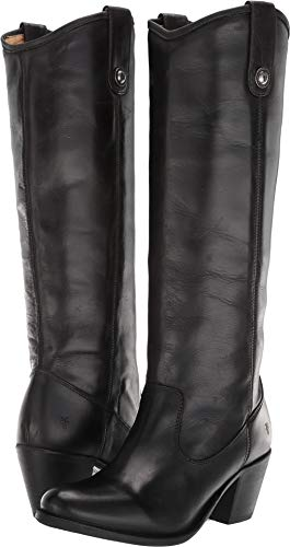 FRYE Women's Jackie Button Black 11 B (Womens Jackie Button Boot)